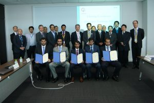 Six Qatargas engineers train at Japan's Chiyoda