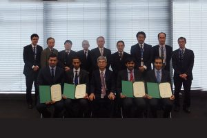 QP engineers complete technical training at Japan's Chiyoda