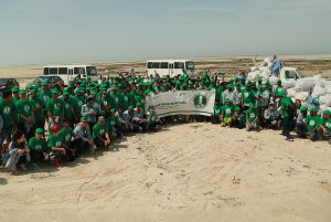 "Chiyoda Almana celebrates ""Company's Foundation Day for 2016"" with Beach Cleaning Campaign"