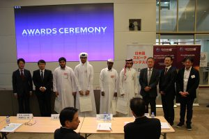 9th Annual Japanese Speech Contest held at Qatar University