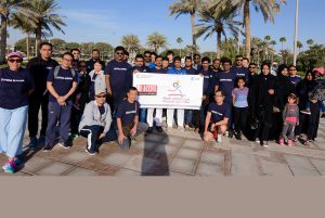 Chiyoda Almana celebrates the seventh Qatar National Sports Day
