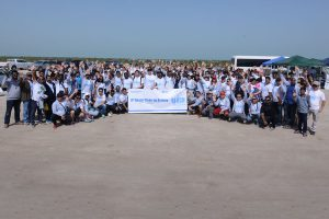 Chiyoda Almana Conducts 8th Annual Beach Cleaning