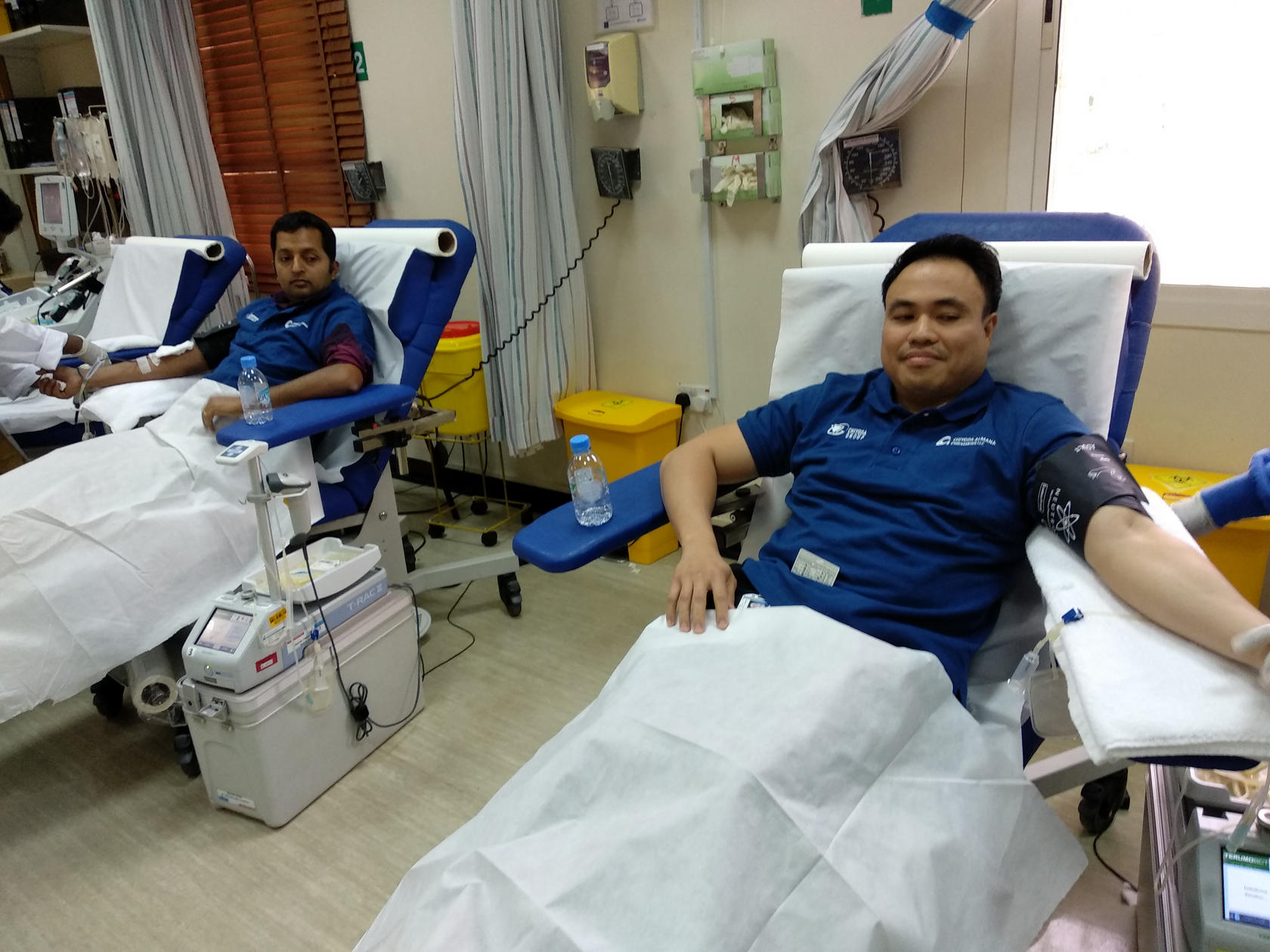 Chiyoda Almana organizes its 5th Blood Donation Campaign