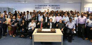 Chiyoda Almana Celebrates the International Quality Day